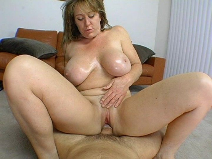 Mature mom on big cock