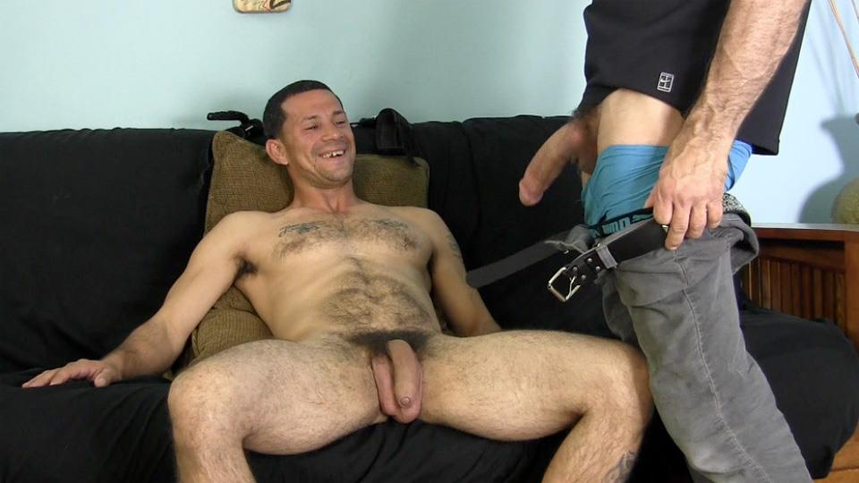 porn straight guy first gay time Black