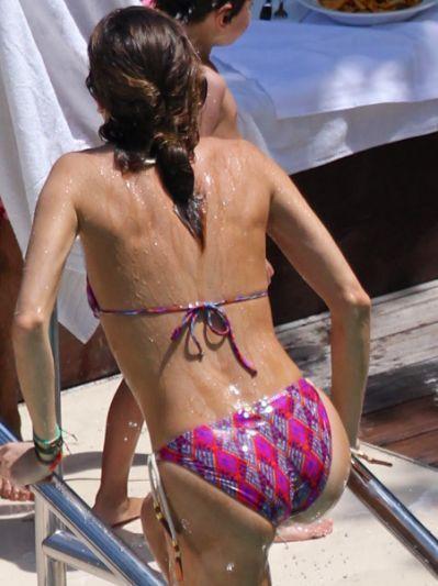 Melissa theuriau bikini