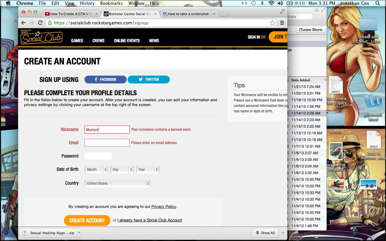 Hentai username password