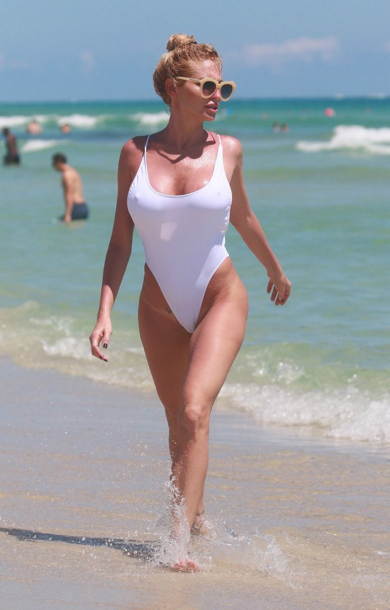 best of Women Busty beach