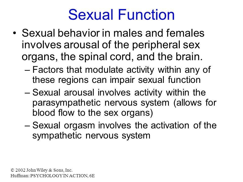 Female orgasm psychology