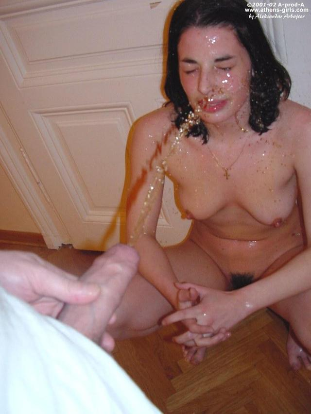 Remarkable idea girl getting golden shower could not