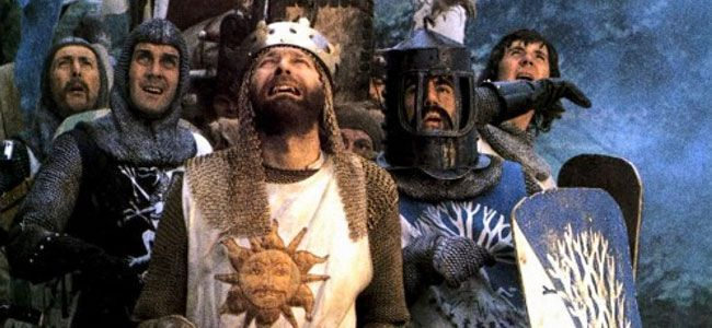 Monty python holy grail virgins between