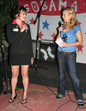 Bull reccomend Sarah palin wearing pantyhose