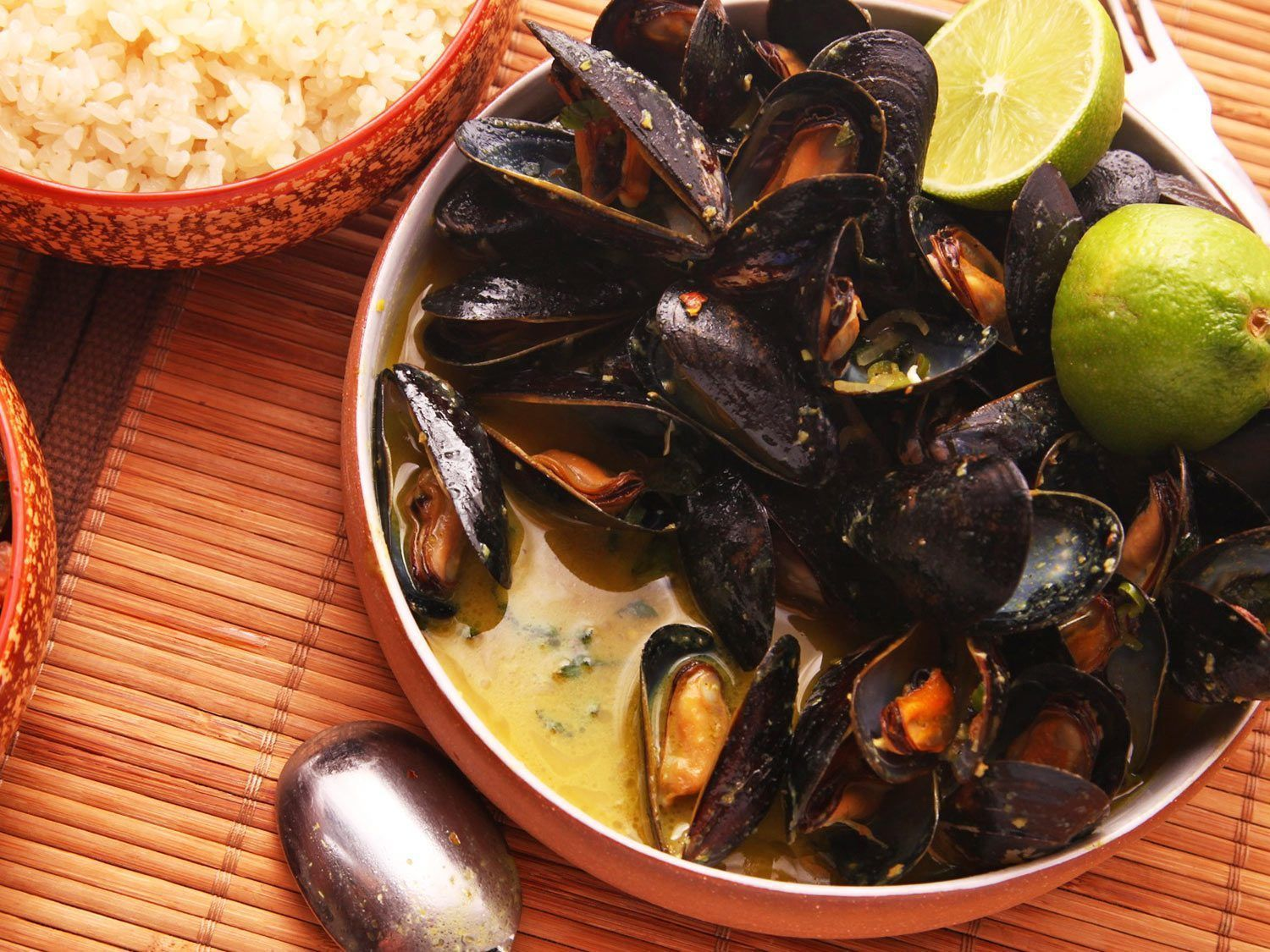 Asian style steamed mussel recipes