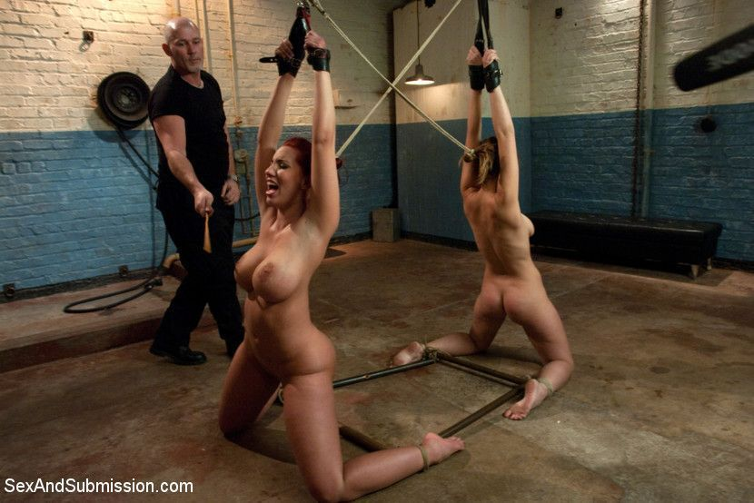 Two women in sex bondage