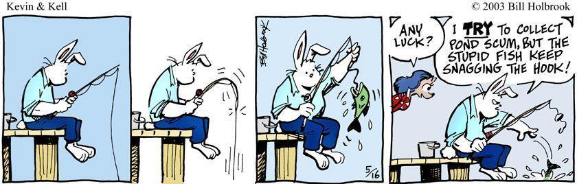Fish comic strip