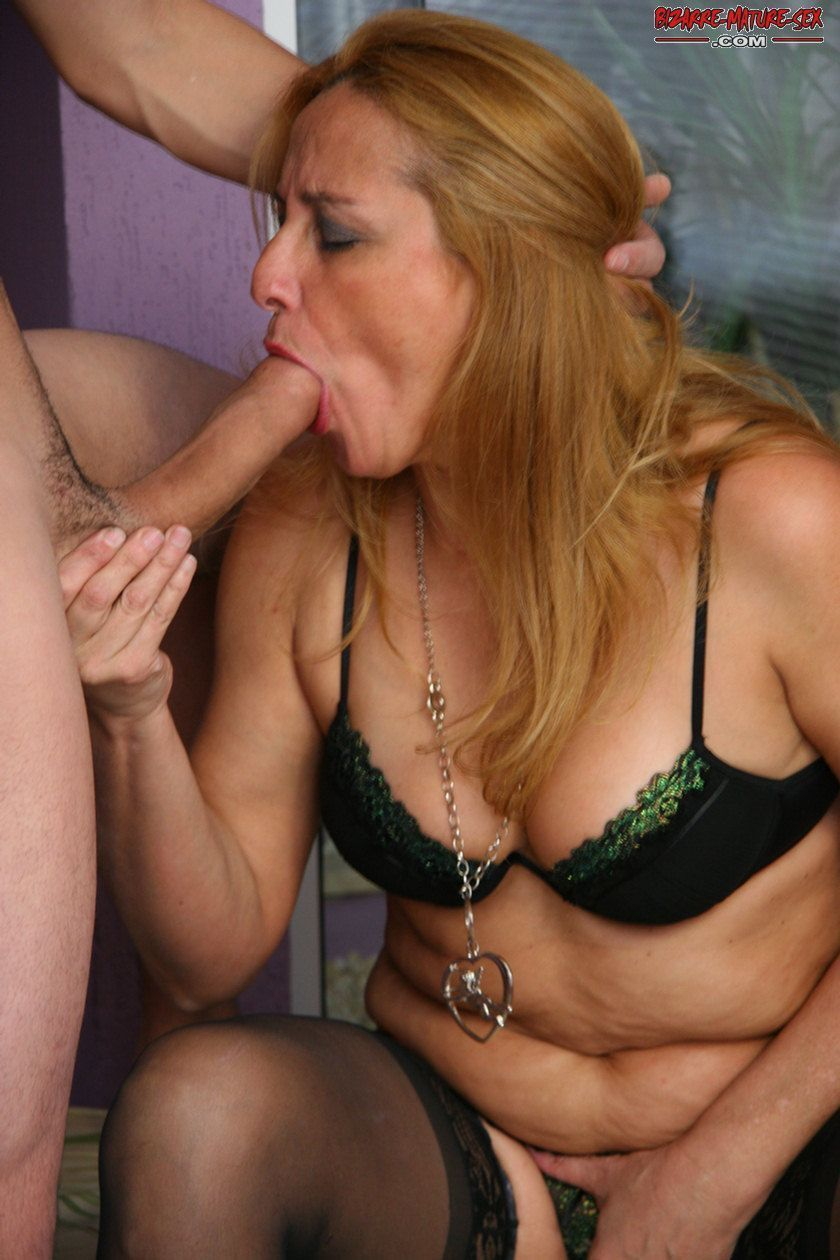 Amateur mature cum face