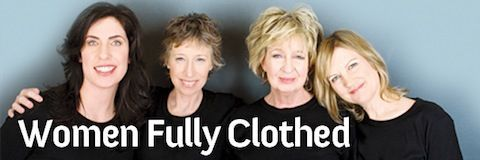 Fully clothed mature women