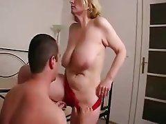 Prone position porn tube