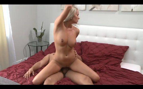 Blonde Milf Riding Cock