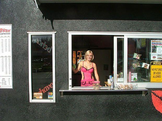 Rosebud reccomend Coffee bikini baristas grab go arrested