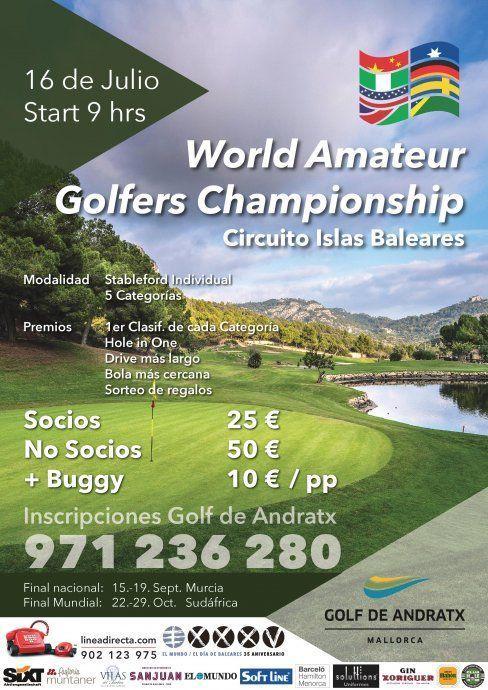 Judge reccomend World amateur golf chamionship