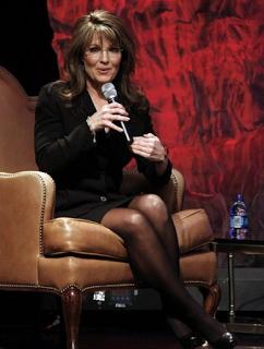Cheddar reccomend Sarah palin wearing pantyhose