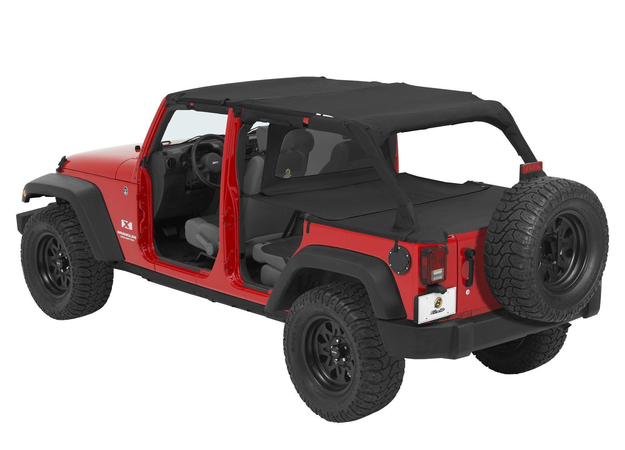 Hydraulics reccomend Jeep rubicon bikini tops