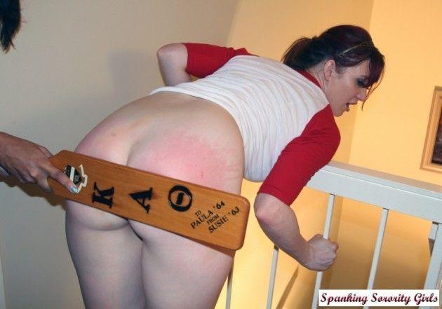 Ass paddle porn