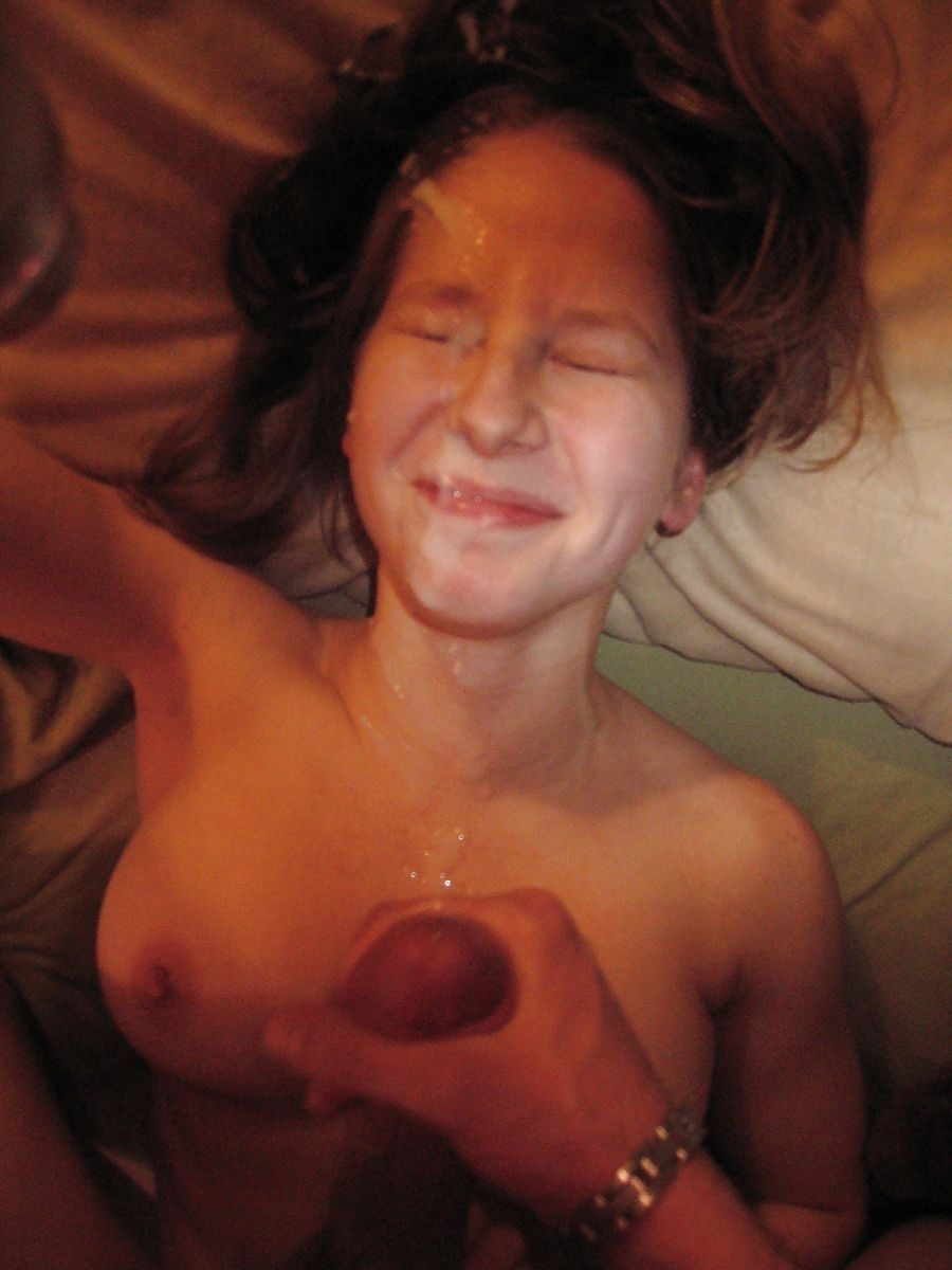 girls amatuer facials Cum