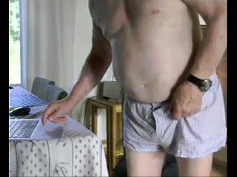 Bust in her ass