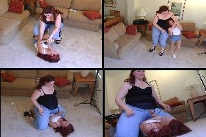 Big B. reccomend Amazon amanda wrestling smothering domination brandie