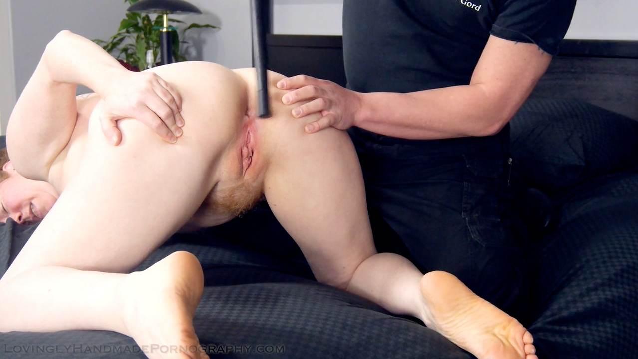Spanking anus clips
