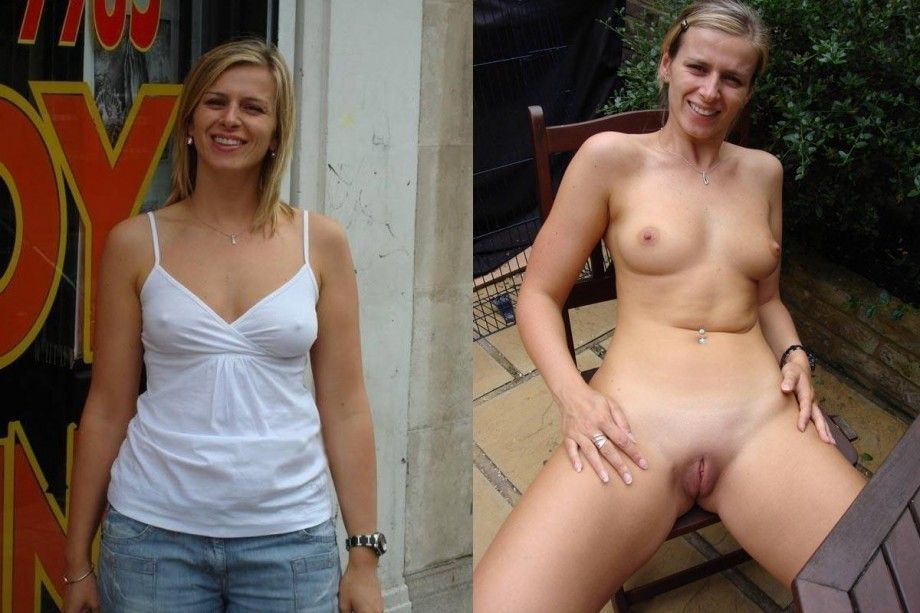 Those on! clothed then nude women will know