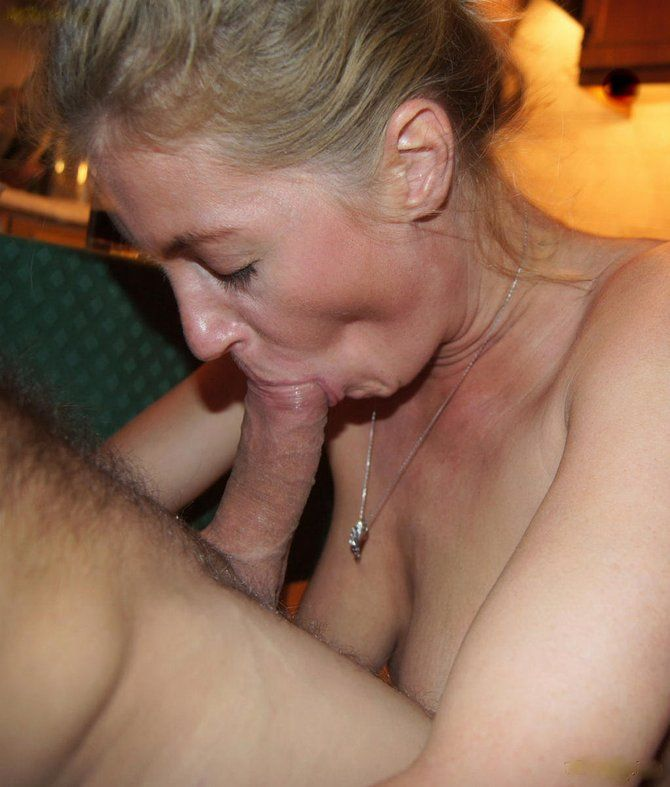 sucking cock Busty mature amateurs