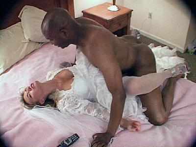 Interracial bride fuck the word