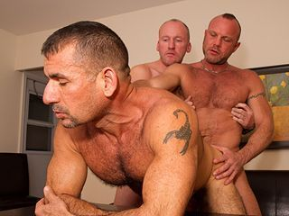 Mature gay older men