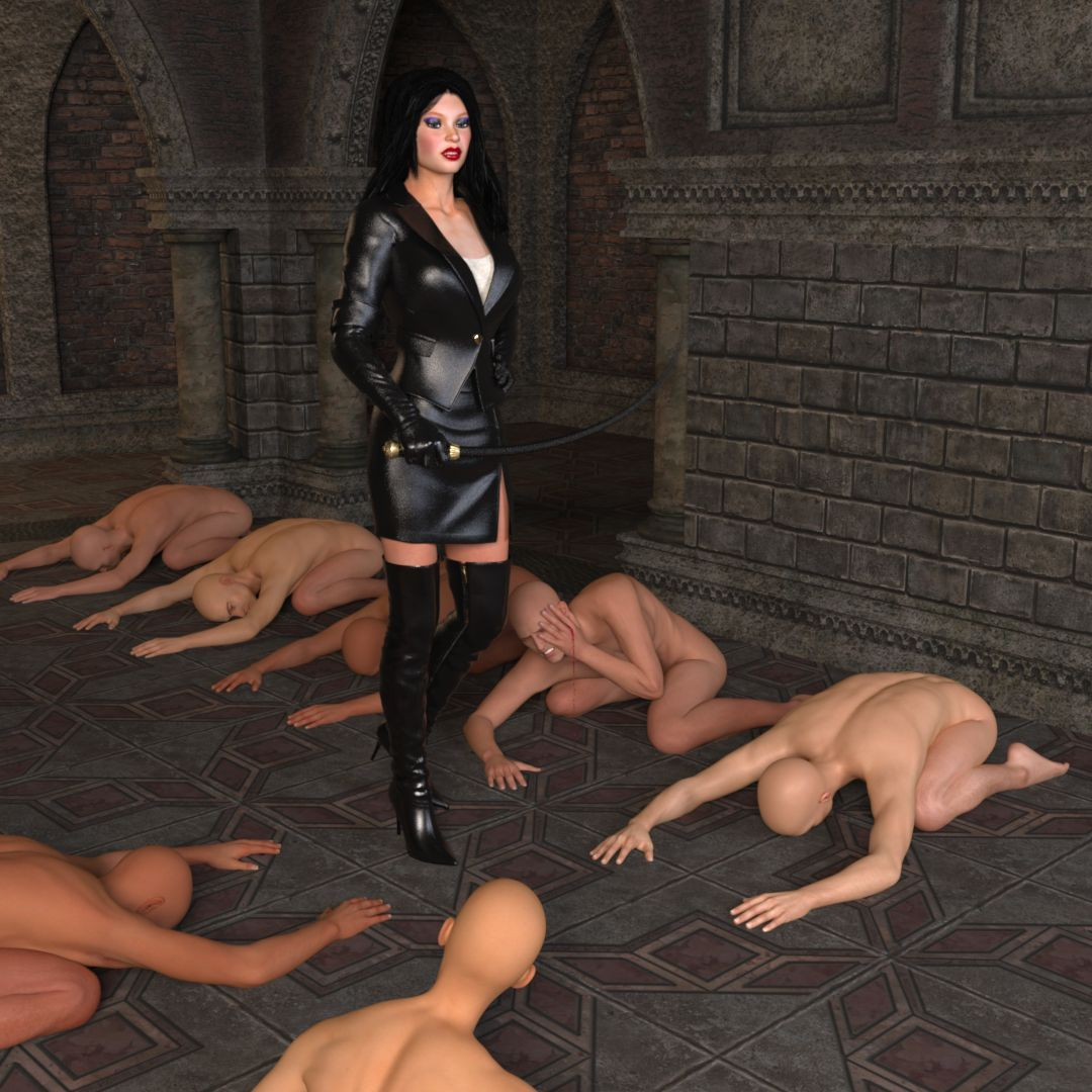 Domination female slave