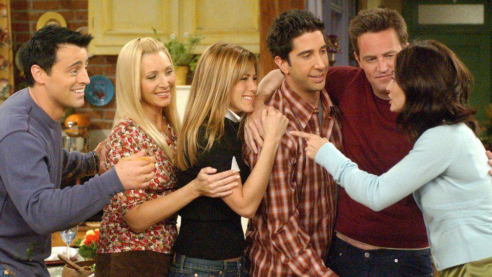 Tv show friends nude