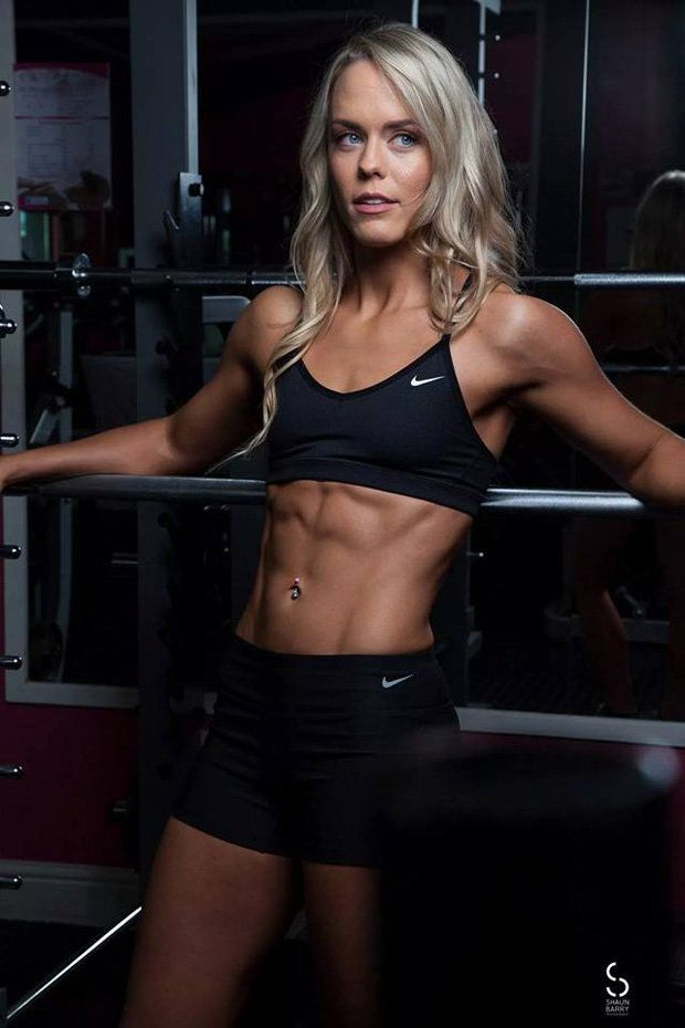 Bikini fitness model photo woman