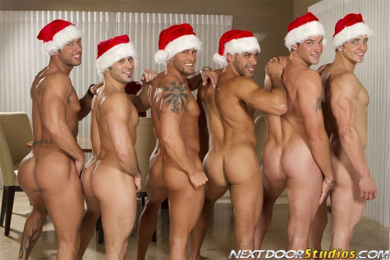 Christmas nude males share your
