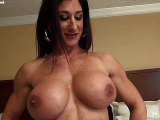 Muscle women big clitoris