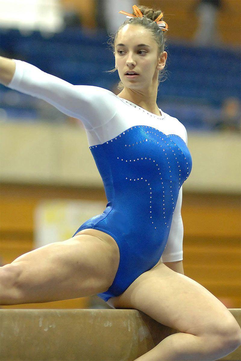 Hot college pussy girls gymnastics