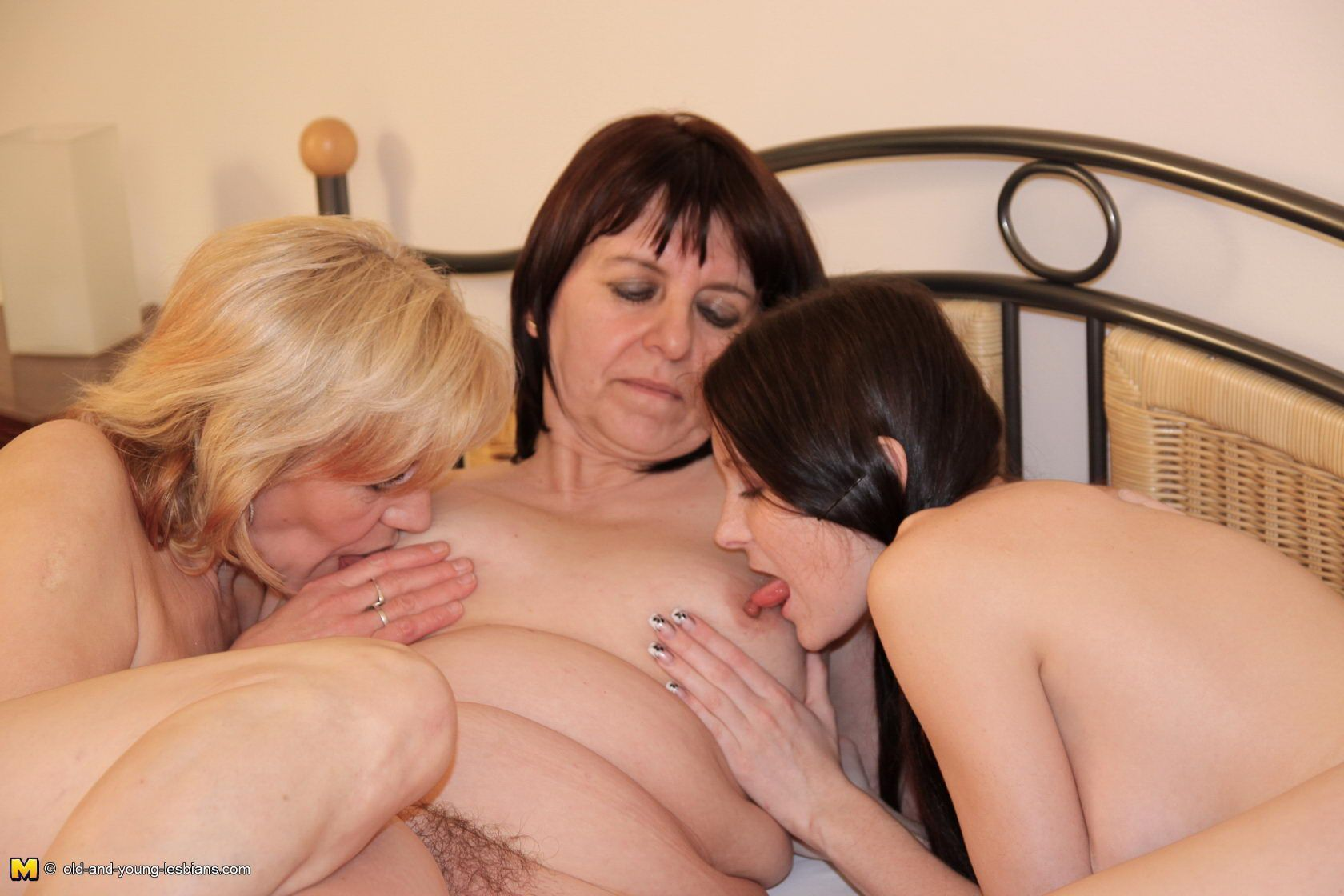 Apologise, lesbian old orgy young
