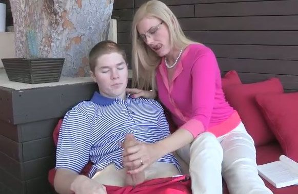 best of Neighbor seduces boy Milf
