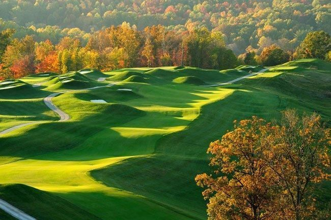 French golf lick