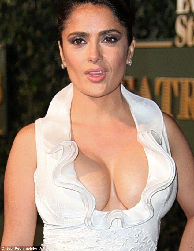 Big black boob striptease