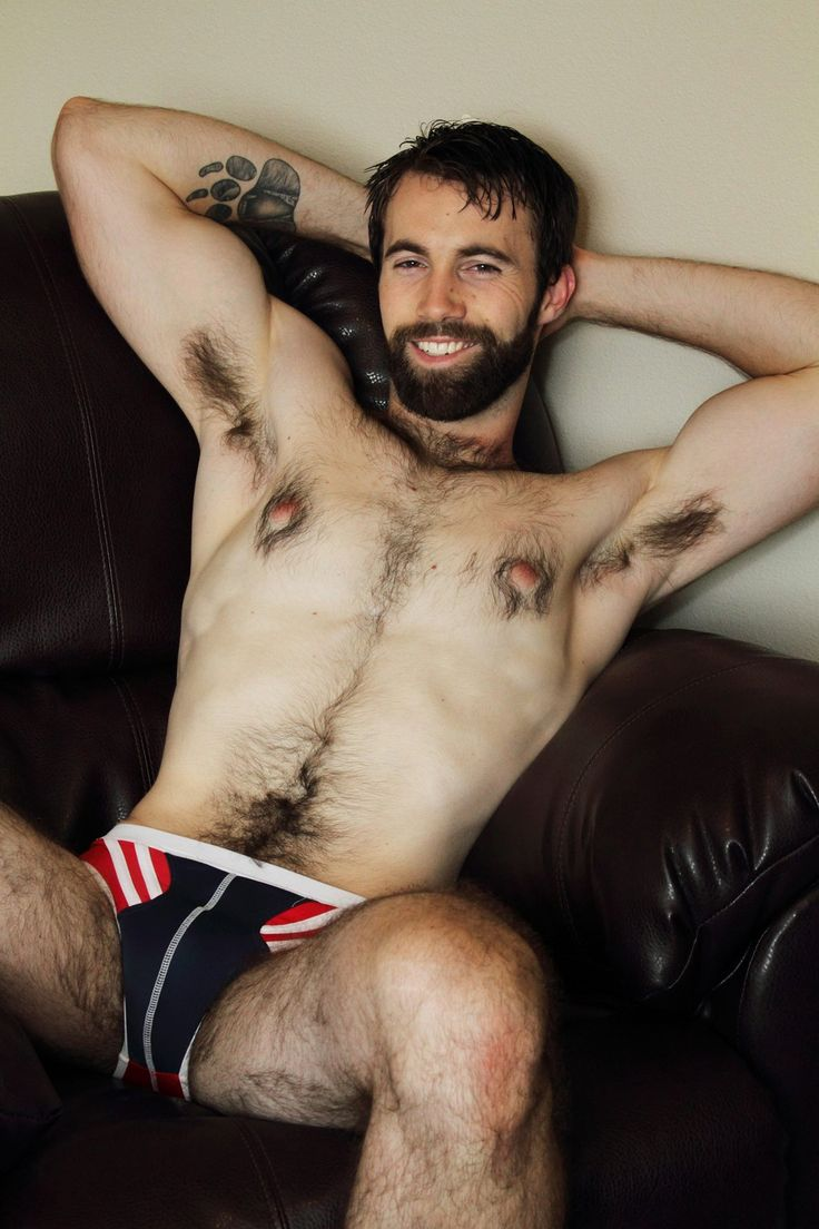 White hairy hunks naked
