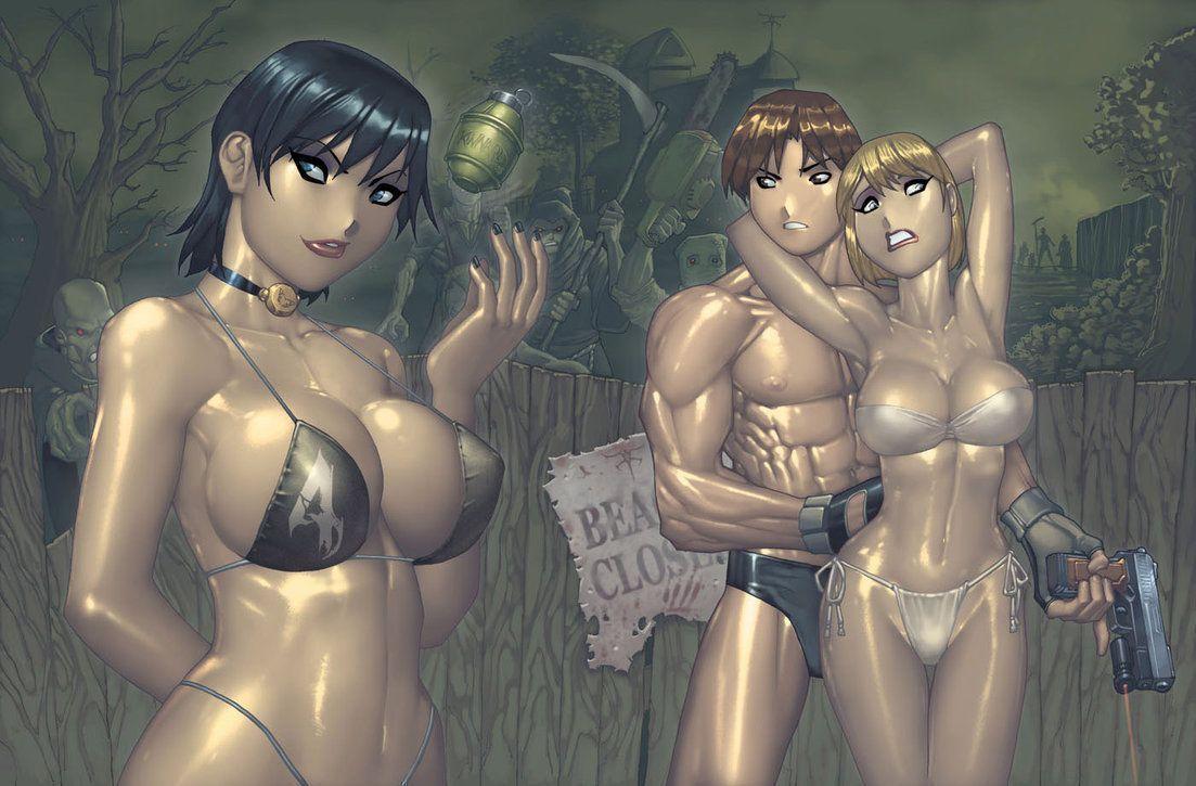 Resident evil 4 hentai skins