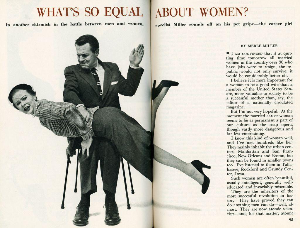 Why men spank women