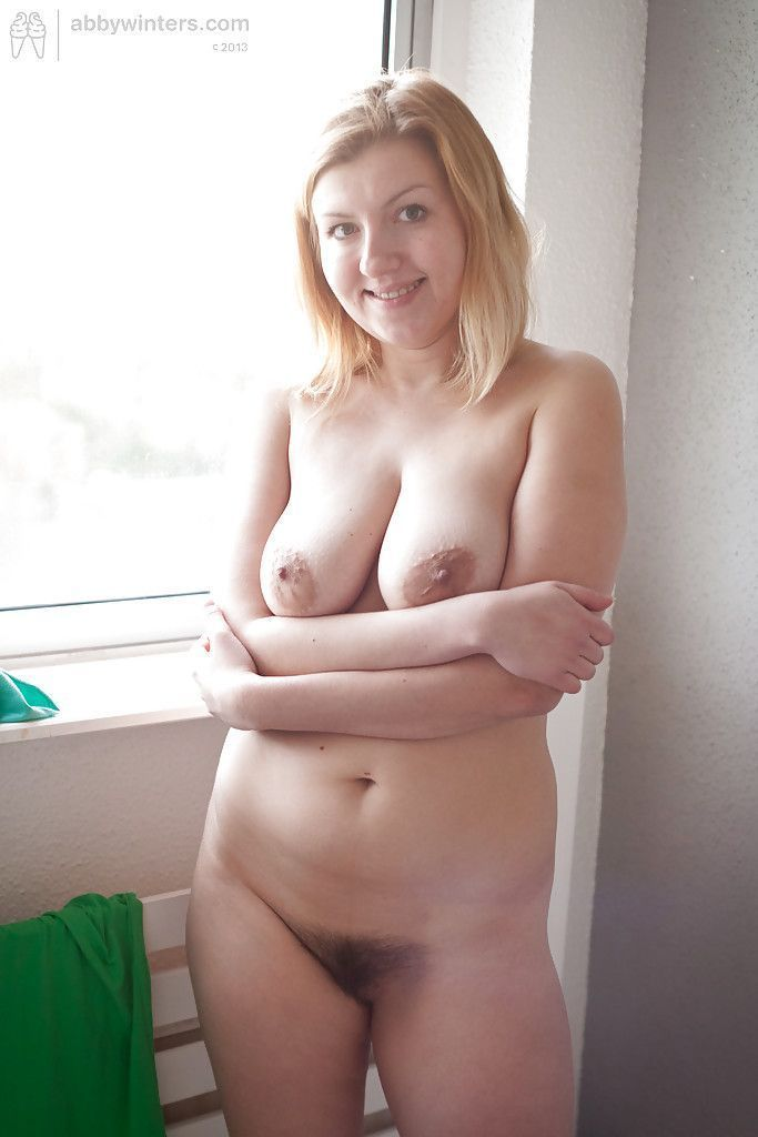 Abby winters chubby blonde big tit amateur