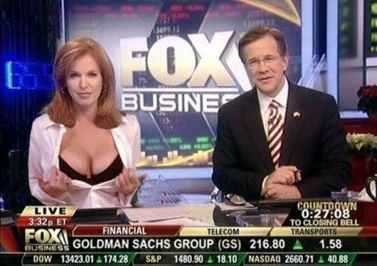 News anchor blow job