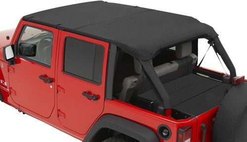 Jeep rubicon bikini tops