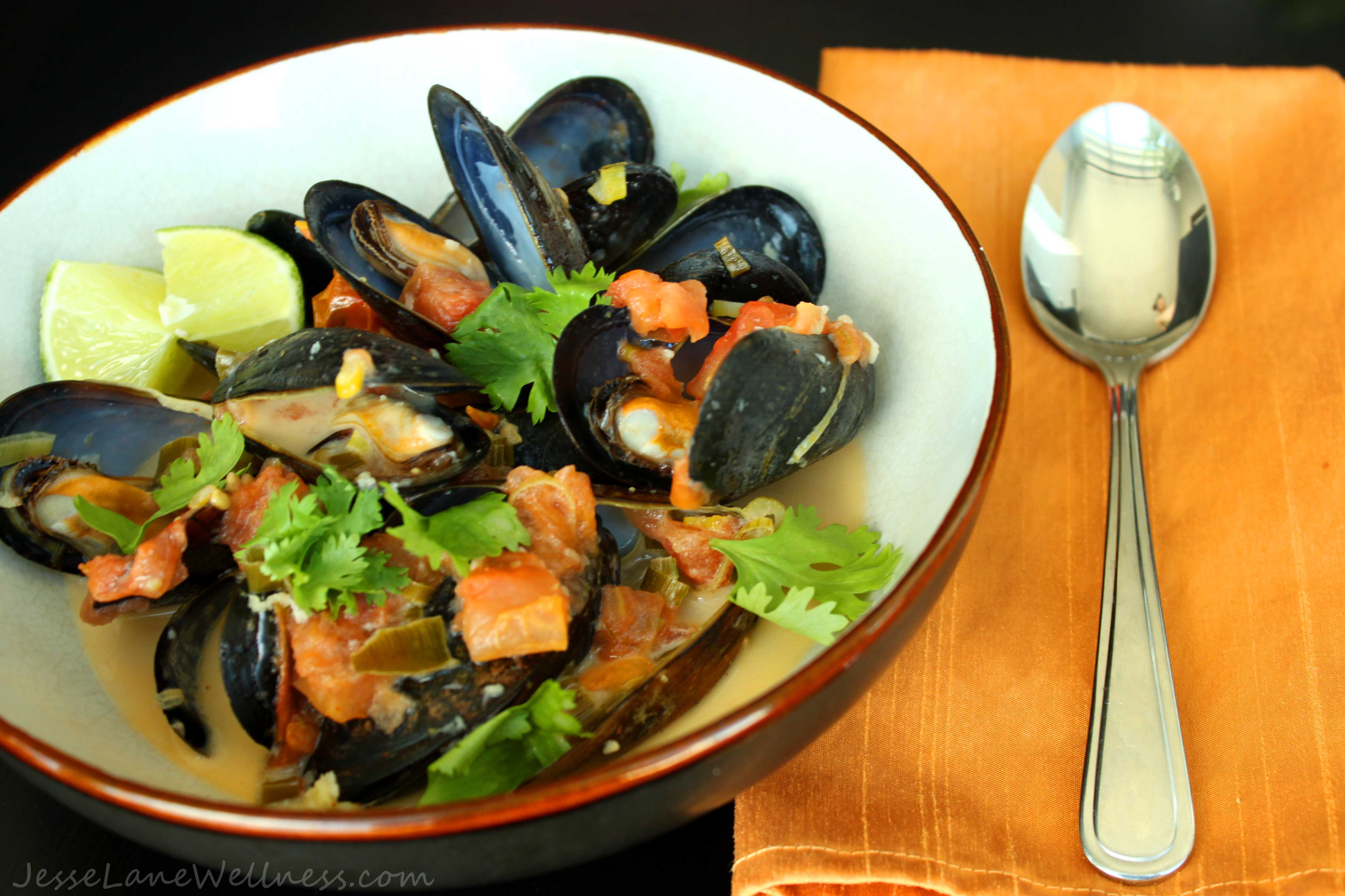 Cold F. reccomend Asian style steamed mussel recipes