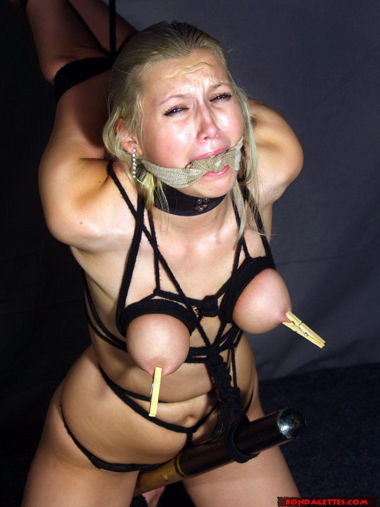 Wife breast bondage