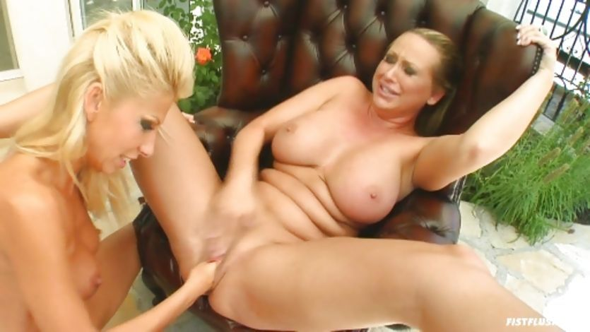 Red Z. reccomend Busty blonde fisting