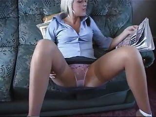 Large black anal