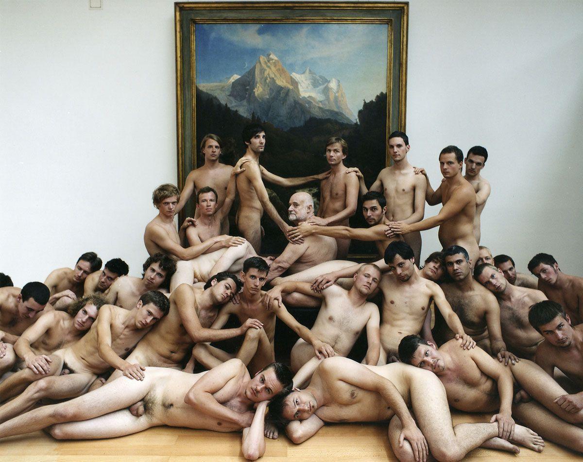 Naked male artwork